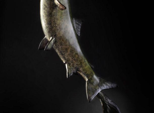 Salmon Leaping II